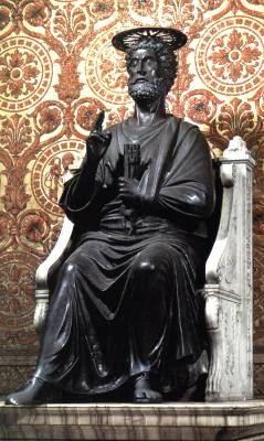 The Prince of Apostles and First Pope St. Peter